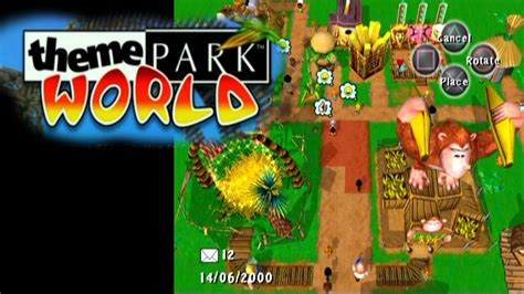 theme park worldwide theme park world ps2 youtube