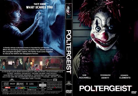 Build A House Online poltergeist dvd cover amp label 2015 r1 custom