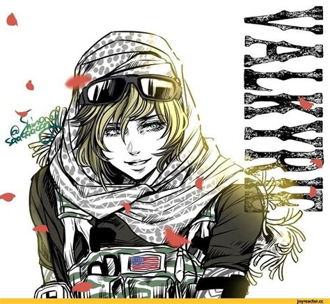 X Anime Siege by Rainbow Six Siege Hibana Valkyrie Iq Siege