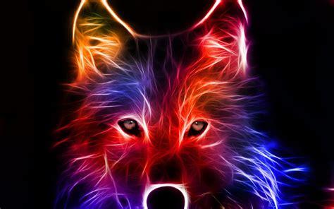 fondos de pantalla de lobos en movimiento fondos de pantalla lobo art 237 stico de colores 1440x900 fondos de pantalla