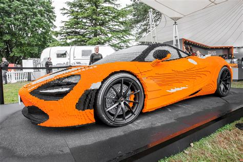 lego mclaren size lego mclaren 720s unveiled at goodwood urdesignmag