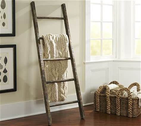 decorating with a ladder for simple rustic chic rustic