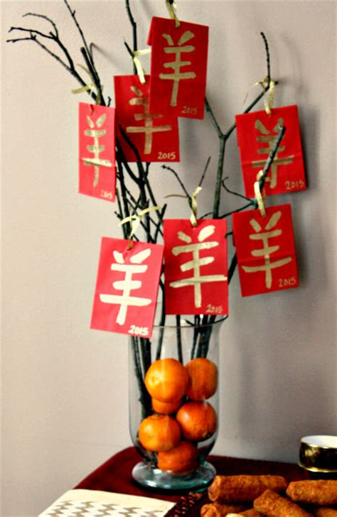 new year lucky tree craft lucky tree centerpiece for new year celebration
