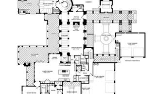 colonial floor plans ideas house spanish plan residence greta asuncion