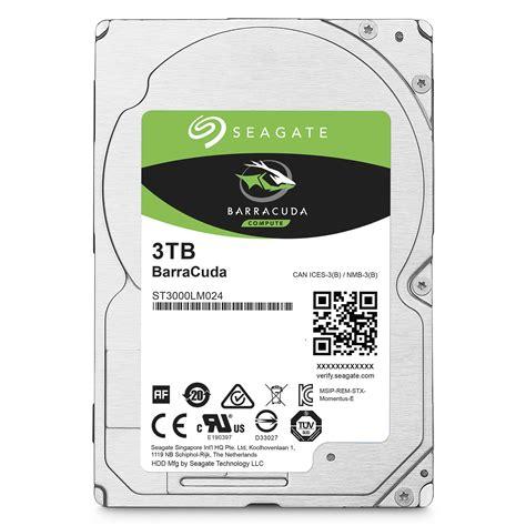 Hdd 3tb Seagate seagate 3tb barracuda compute 5400 rpm sata st3000lm024 b h