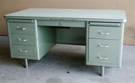 items similar to steelcase tanker desk 1960 s on etsy
