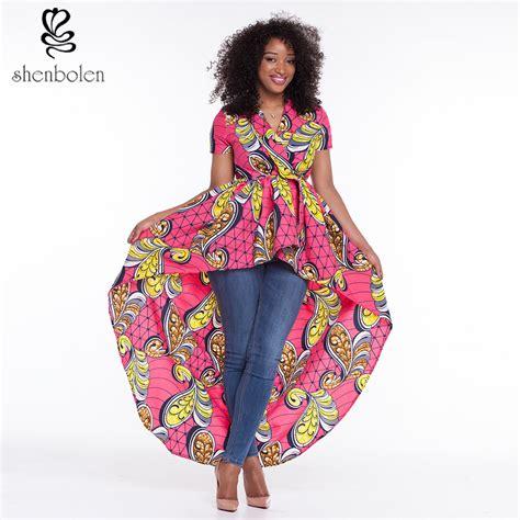 2016 African Dresses For Women Dashiki Ankara Wax Print