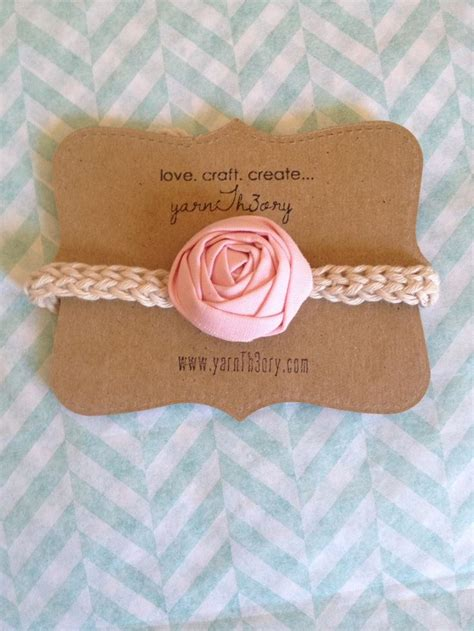 Headband Card Template by 1000 Ideas About Headband Display On Craft