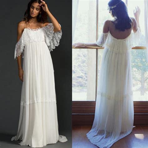 Discount Wedding Dresses Unique by Discount Bohemia Lace Wedding Dresses 2016 Unique Bat Wing