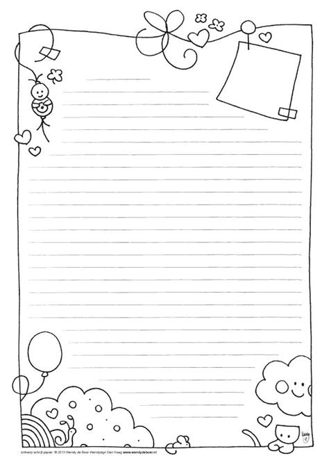 Free Printable Papers For Card - best 25 note paper ideas on notebook paper