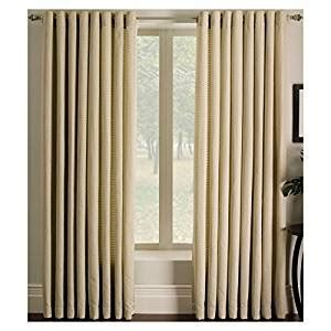 does lowes sell curtains com allen roth sullivan ivory grommet panel 56