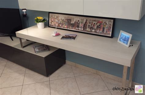 scrivania soggiorno come organizzare la scrivania in soggiorno ohmydesign