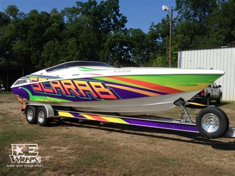 scarab boat graphics boat wraps dewraps digital effects signs and graphics llc