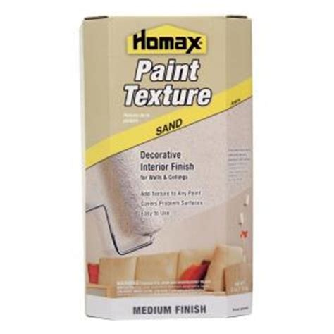 home depot paint with sand homax sand texture paint additive 8474 the home depot