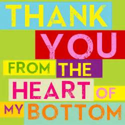 Thank you from the heart of my bottom cards galore