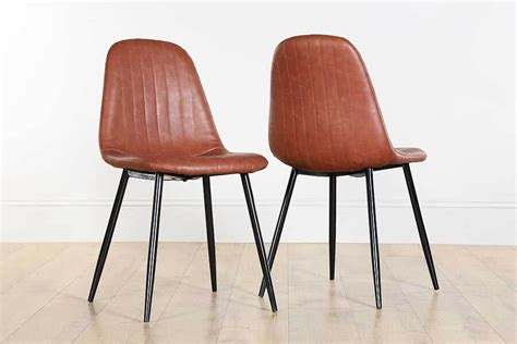 coloured dining room chairs leather dining chairs black brown coloured leather