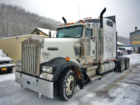 2000 kenworth w900 tandem axle sleeper cab tractor for