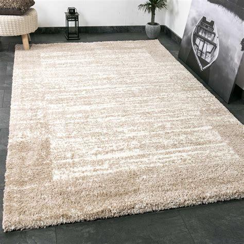 teppich beige muster shaggy teppich farbe beige creme flauschig
