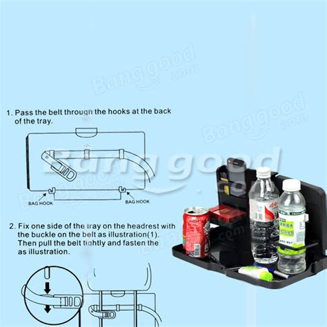Car Multifunction Foldable Seat Back Meal Table Meja Diskon car multifunction tray folding back seat table drink food cup holder us 17 99