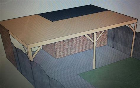 schuur achtertuin vergunning overkapping veranda in achtertuin werkspot