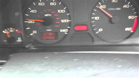 peugeot 306 engine speed related stop light