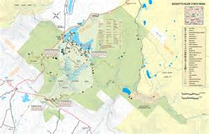 glen falls trail map images