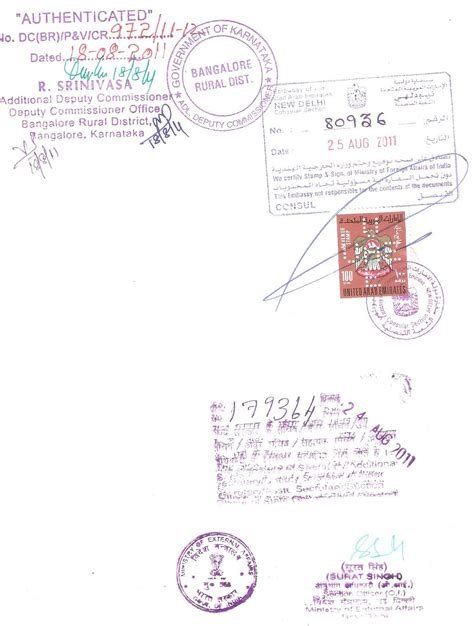 Demand Letter Attested By Indian Mission Embassy Attestation For Uae Kuwait Qatar Oman Dubai In India For Birth Certificate