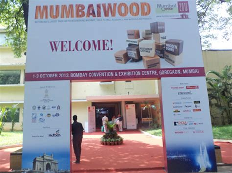 mumbai wood  tradeindia trade show participation