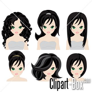 graphics design haircuts pregnancy girls with long hair clipart clipart suggest