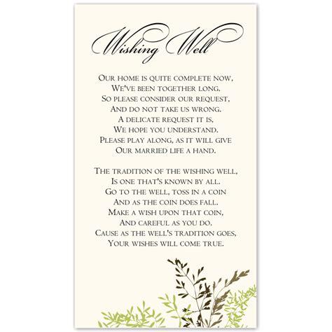 wedding invitations wishing well cards budget wedding invitation wishing well card delicate