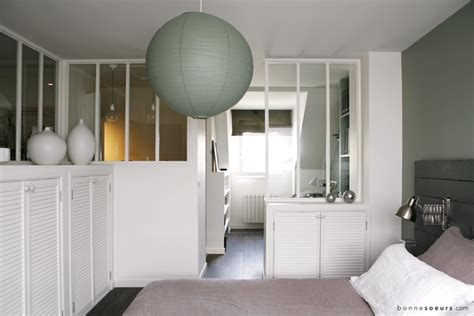 cuisine ouverte avec verri鑽e idee deco chambre cocooning 11 d233co suite parentale
