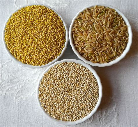 Millet For The And foods for millet brown rice and quinoa