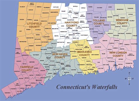 map of ct towns ct map my