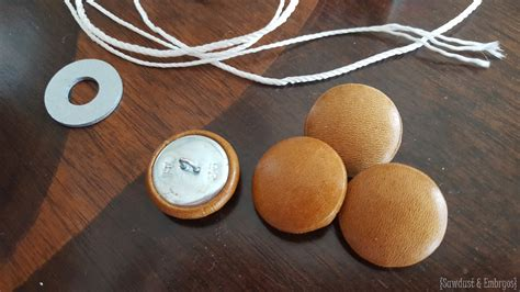 leather buttons for upholstery upholstered ottoman diamond tufting reality daydream