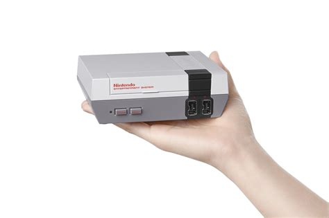 nintendo wii new console nintendo announces new console the nes classic edition
