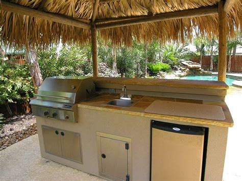 outdoor kitchen with sink grilling in the great outdoors essential ideas for your