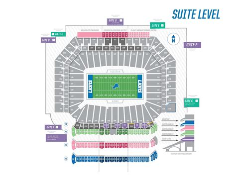ford field contact number ford field seating chart with seat numbers brokeasshome