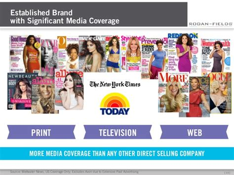 23 best rodan fields media coverage images on pinterest rodan and fields business system presentation
