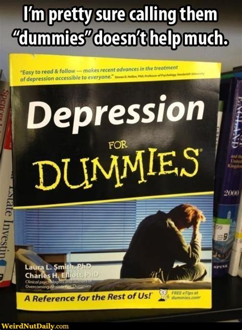 Funny Depression Memes - funny pictures weirdnutdaily depression for dummies