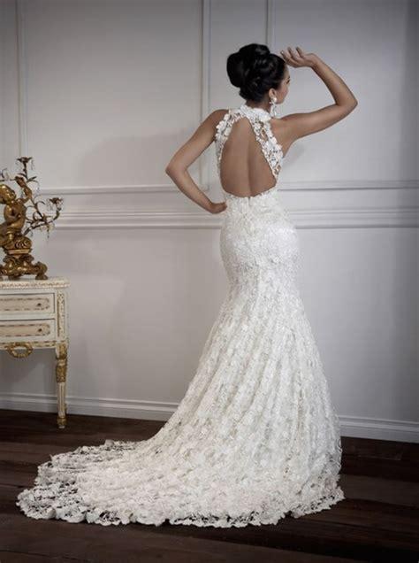 Lace Wedding Dress Open Back: Undeniably Smoking Hot   iPunya