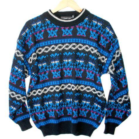 ski pattern jumper vintage ski sweaters