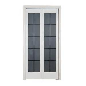 Folding Doors Interior Home Depot Pinecroft 24 In X 80 In Colonial Glass Wood Universal