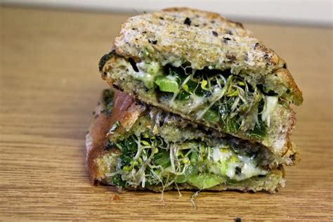 Tarika Green the all greens panini