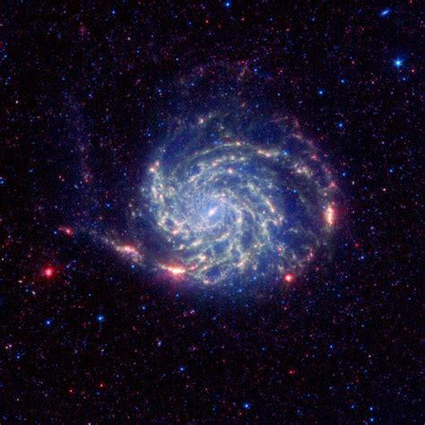 nasa space pictures news spitzer reveals no organics zone around pinwheel