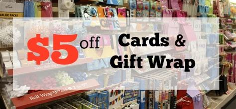 Target 5 Off Gift Cards - 5 off cards gift items at target southern savers