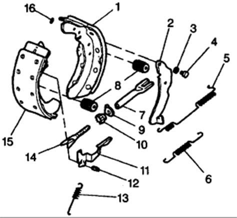 chevy drum brakes diagram diagram rear drum brakes 1955 chevy fixya