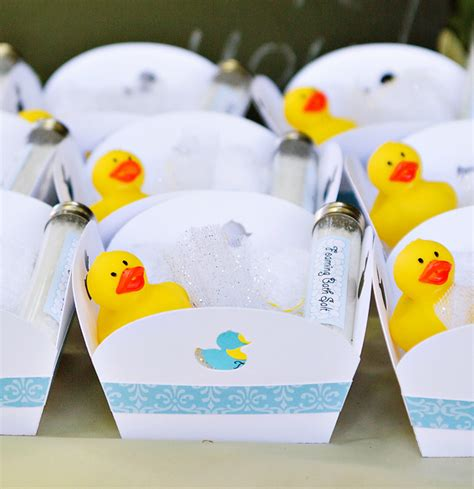 Baby Shower Duck Favors by Crafty Charming Rubber Ducky Baby Shower Hostess With