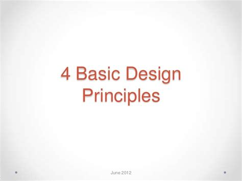 how to use basic design principles to decorate your home 4 basic design principles