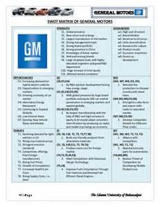 Chevrolet Marketing Mix General Motor Strategic Management Analysis