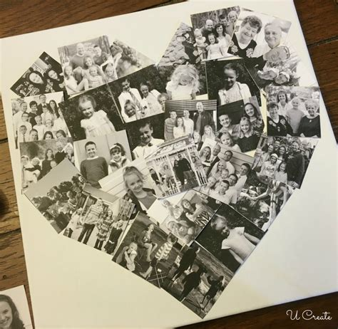 How To Make A Handmade Photo Collage - diy photo collage u create